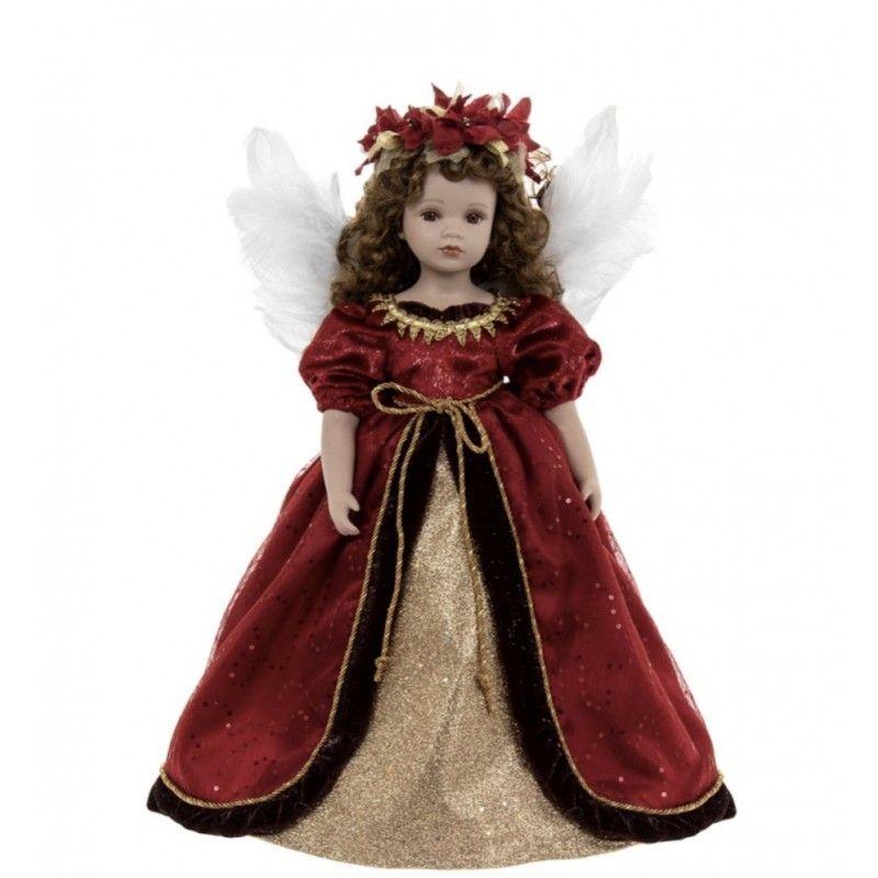Кукла фарфоровая Ангел 46 см