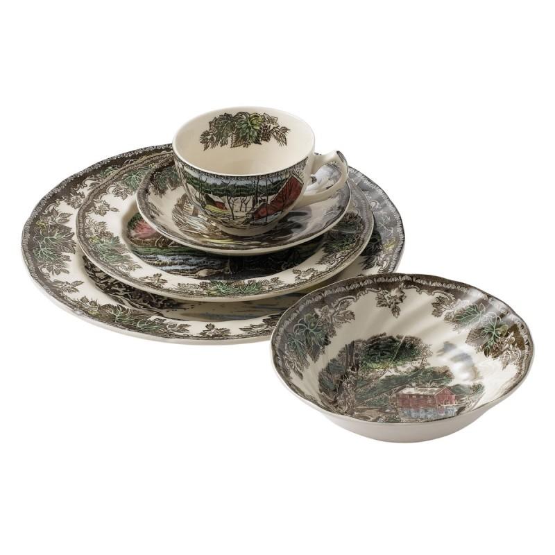 Сервиз чайно-столовый 20пр Деревенька на 4 персоны