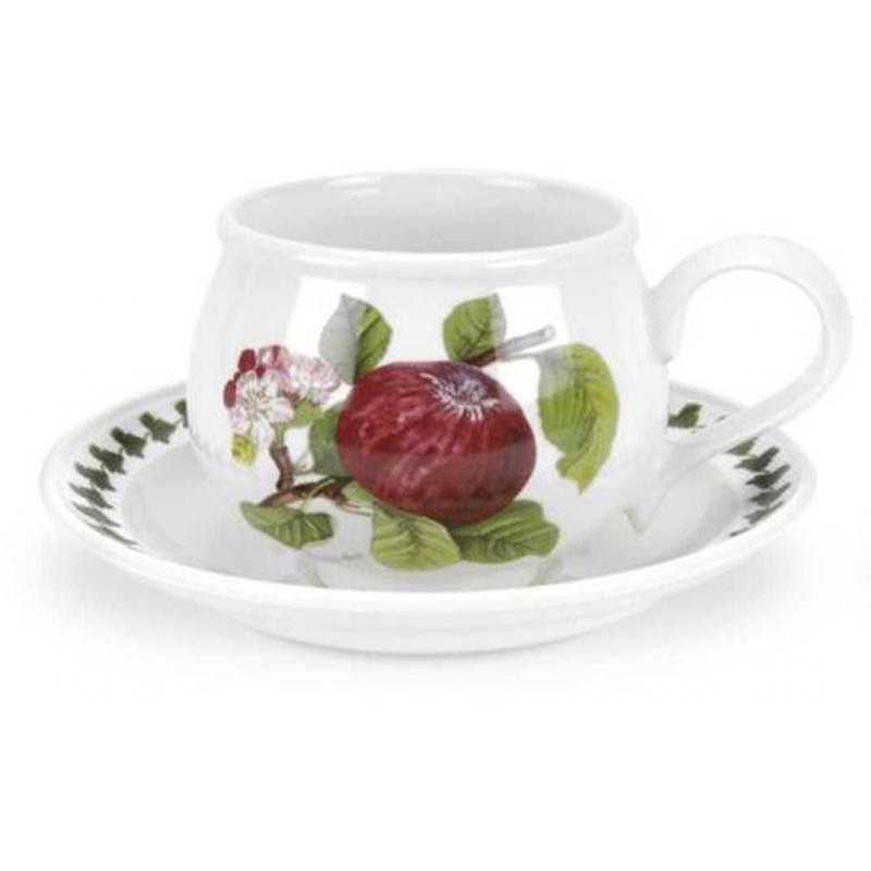 """Чашка чайная с блюдцем 200мл """"Помона"""" """"Красное яблоко"""""""