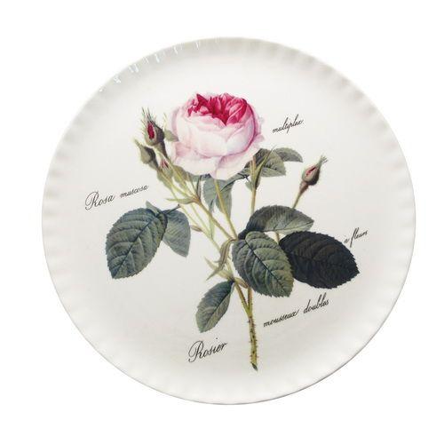 Тарелка для торта 31 см Роза Редаут