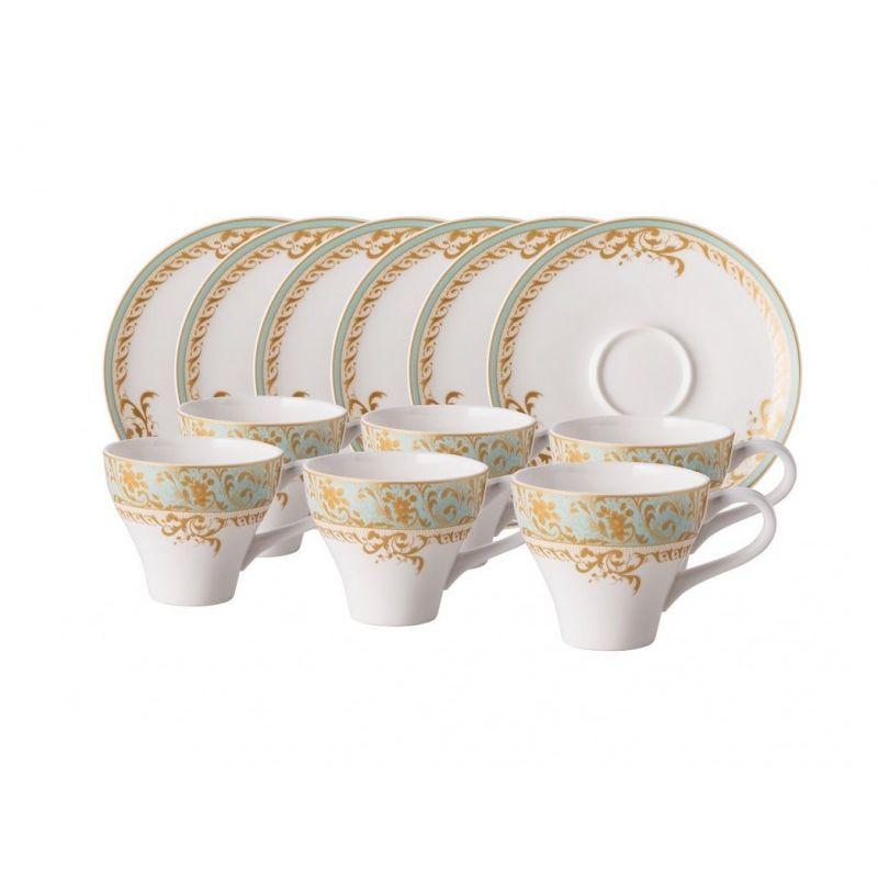 Кофейный набор Фонтенбло 12 предметов
