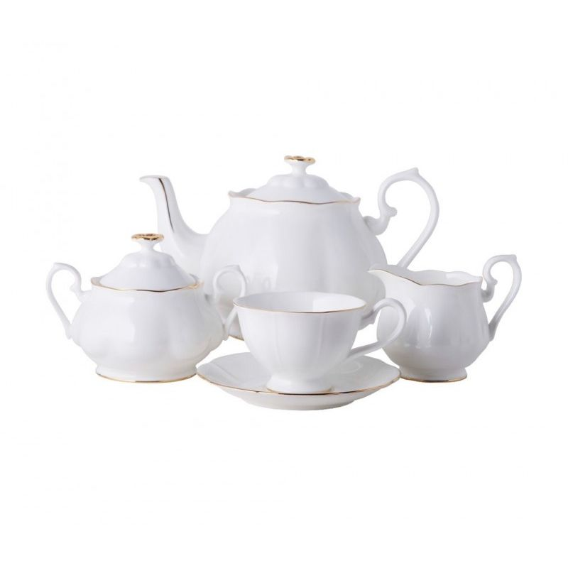 Блан-де-Неж чайный сервиз 15пр