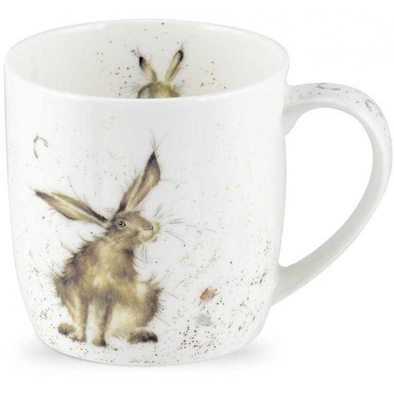 """Кружка Royal Worcester """"Хороший день для кролика"""" 310мл"""