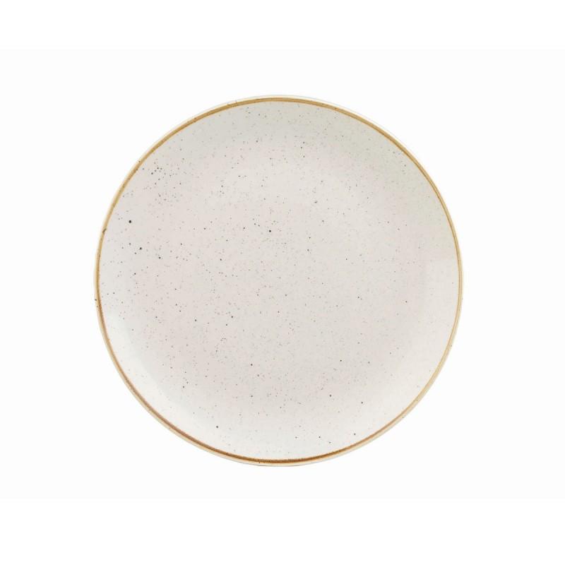 Тарелка безбортовая 26 см Barley White