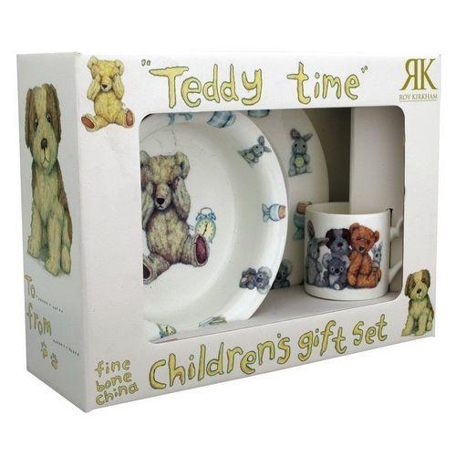 Тедди Тайм/ Набор для мальчика 3 предмета