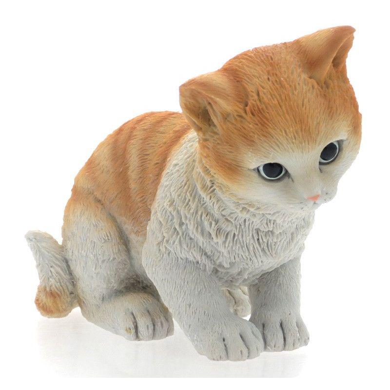 Любопытный котенок 9 см