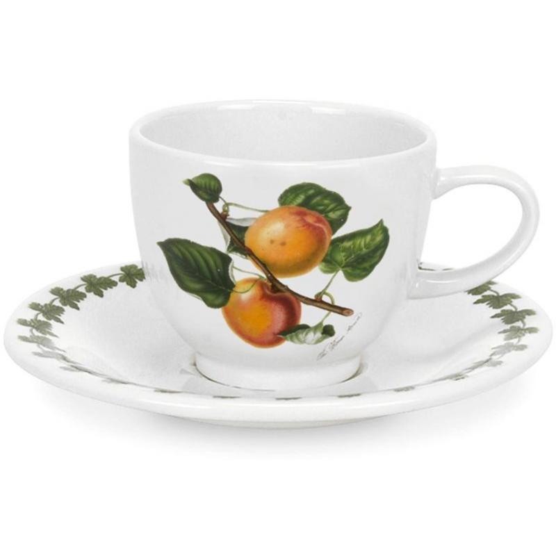"""Чашка для эспрессо с блюдцем 100мл """"Помона"""" """"Абрикос"""""""