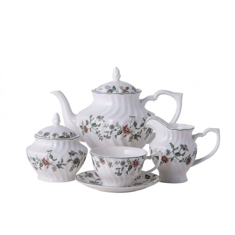 Шарман чайный сервиз 15 предметов, 6 персон