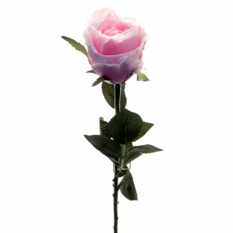 Роза Богема сиреневая 65 см живое прикосновение