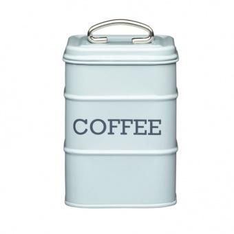 Kitchen Craft Ёмкость для хранения кофе Living Nostalgia blue 11*11*17 см