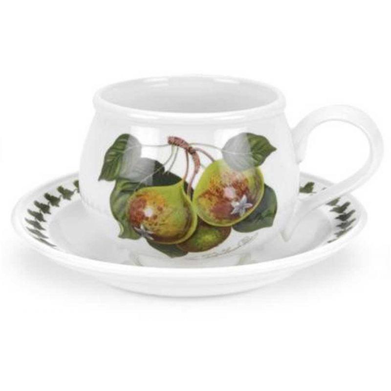 """Чашка чайная с блюдцем 200мл """"Помона"""" """"Груша"""""""