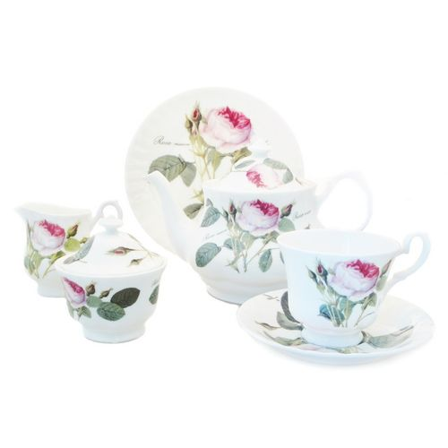 Чайный сервиз 21 пр. Роза Редаут