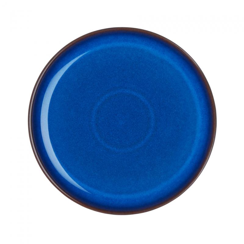 Императорский Синий Тарелка Coupe 21см