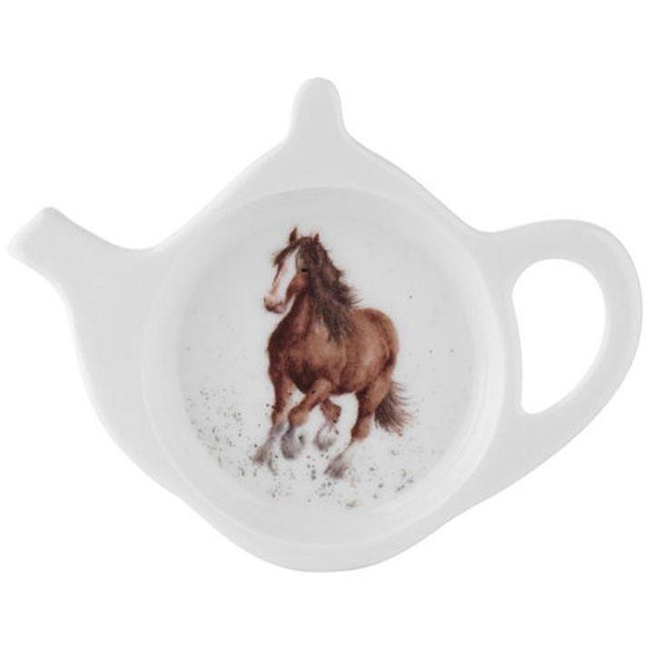 "Подставка для чайного пакетика Royal Worcester ""Забавная фауна.Лошадка"" 13см"