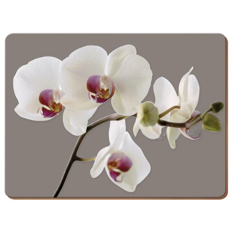 Подставки на пробке большие Гармония орхидей 40х29 см (4шт)