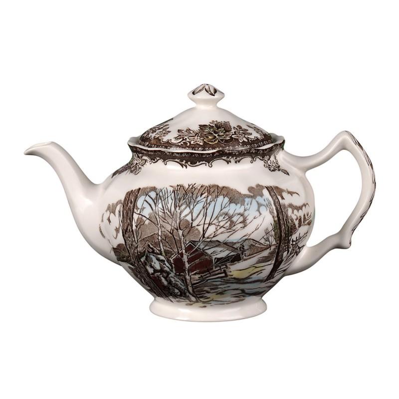 Чайник большой 1200мл Деревенька