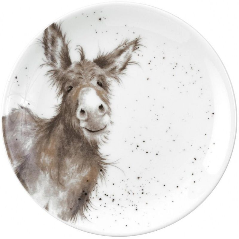"Тарелка десертная Royal Worcester ""Забавная фауна.Ослик"" 16,5см"