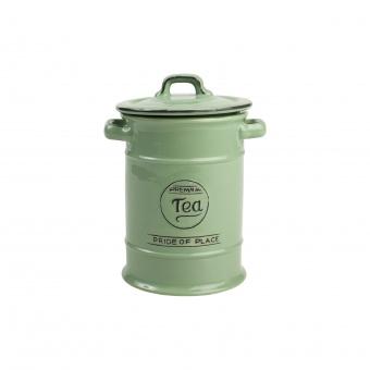 T&G Ёмкость для хранения чая Pride of Place in old green 19*12 см