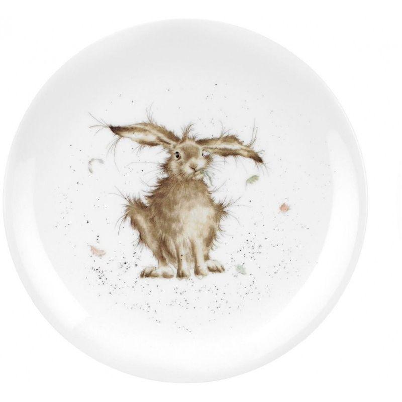"""Тарелка закусочная Royal Worcester """"Забавная фауна.Кролик"""" 20см"""