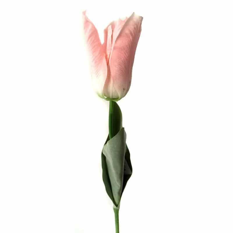 Тюльпан Фаворит розовый 58 см живое прикосновение