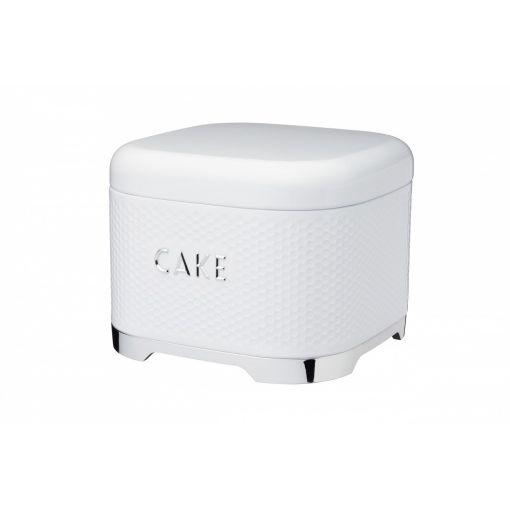 Kitchen Craft Ёмкость для хранения пирожных Lovello Retro Ice White 26,5*19,5 см