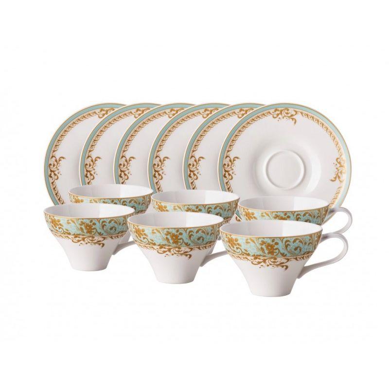Фонтебло чайный набор 12 предметов, 6 персон