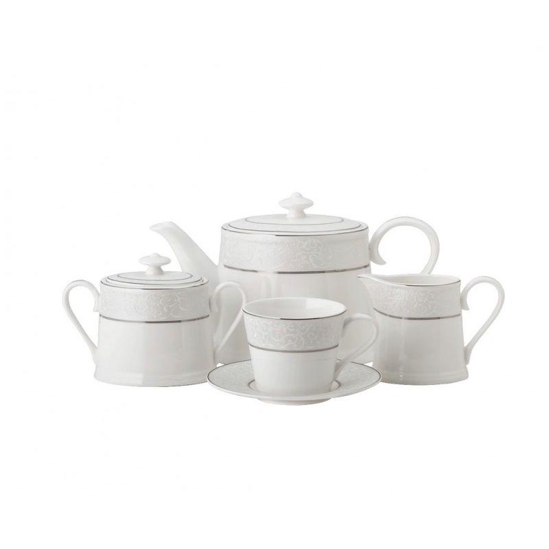 Шато де Валери чайный сервиз 15 предметов, 6 персон