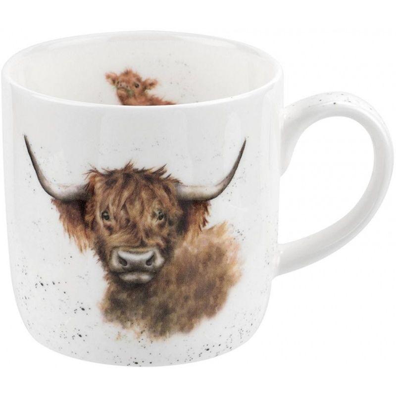 """Кружка Royal Worcester """"Шотландская высокогорная корова"""" 310мл"""