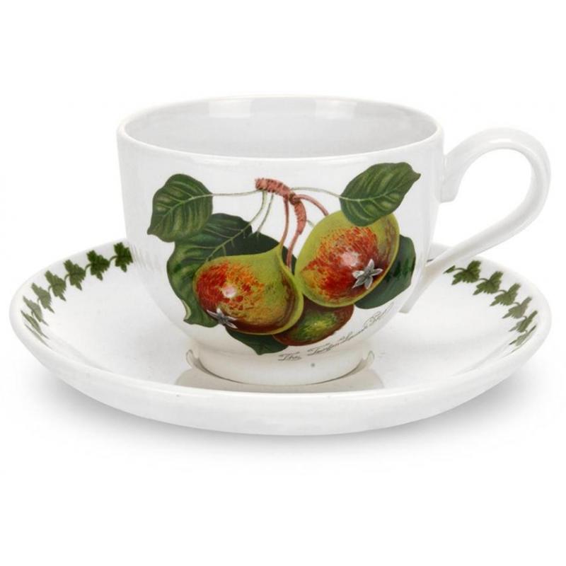 """Чашка для эспрессо с блюдцем 100мл """"Помона"""" """"Груша"""""""