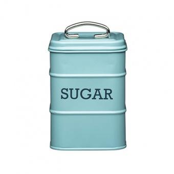 Kitchen Craft Ёмкость для хранения сахара Living Nostalgia blue 11*11*17 см
