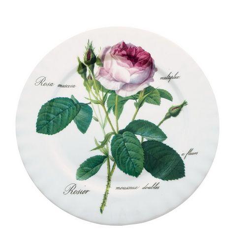 Тарелка 21 см Роза Редаут