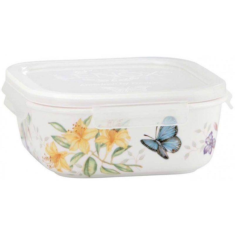 """Контейнер для хранения с крышкой Lenox """"Бабочки на лугу"""" 14,5см"""