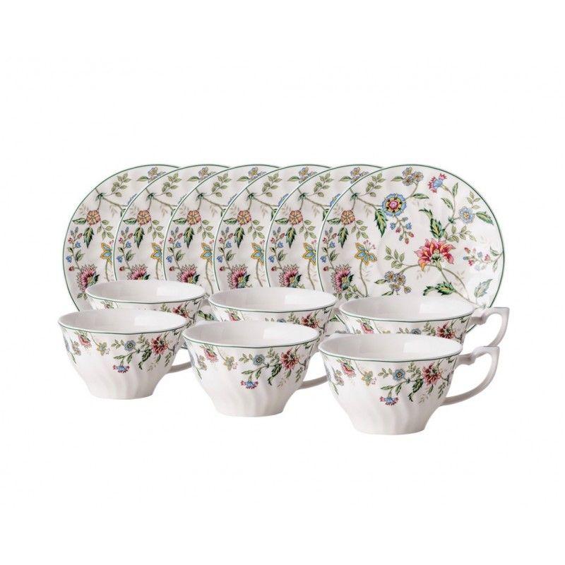 Шарман чайный набор, 12 предметов, 6 персон