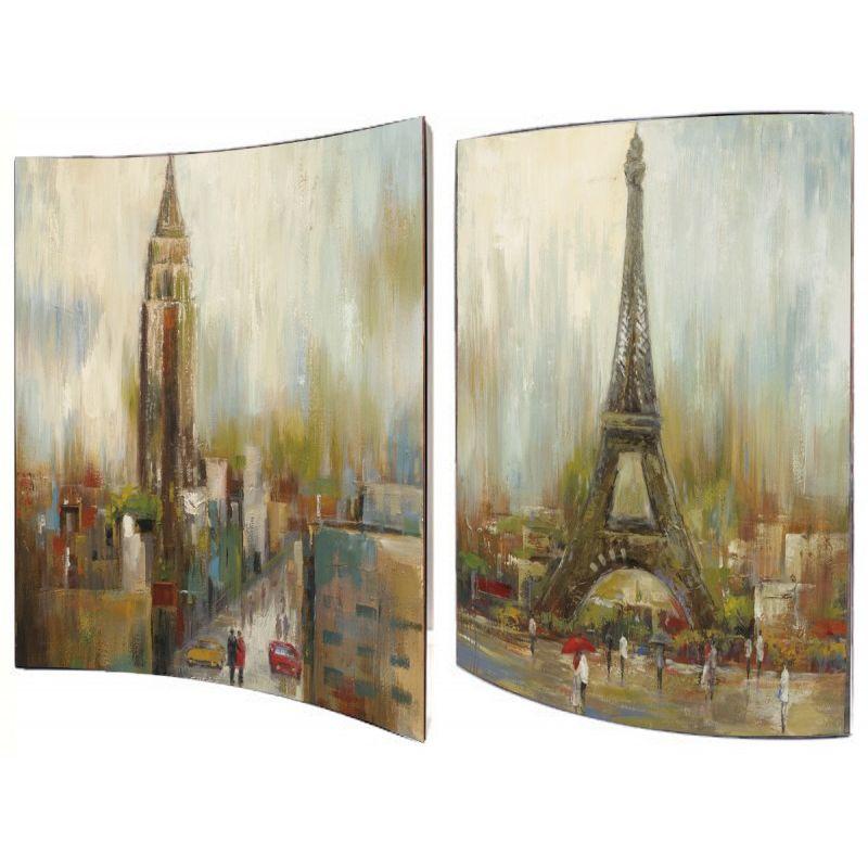 Картина Городские пейзажи 41X51 см (пара)