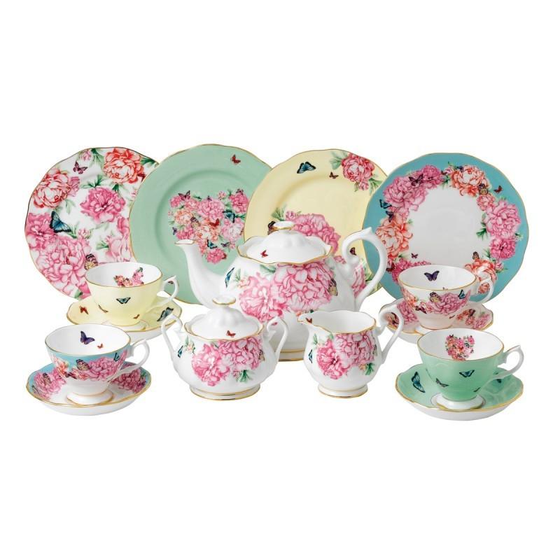 Чайный сервиз Миранда Керр, 15 предметов, 4 персоны, Royal Albert