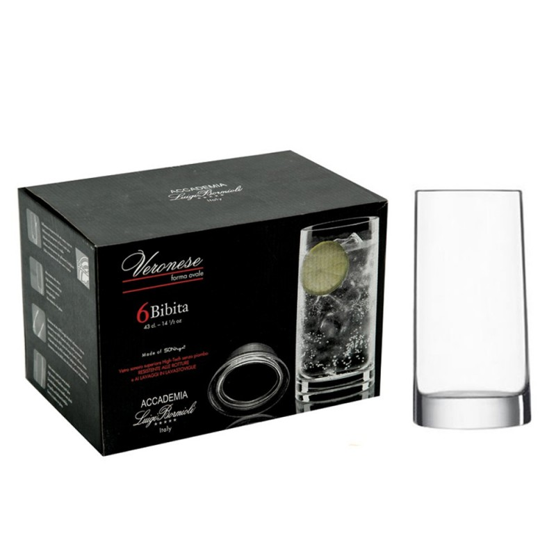 Набор стаканов 430 мл Veronese 6 шт.