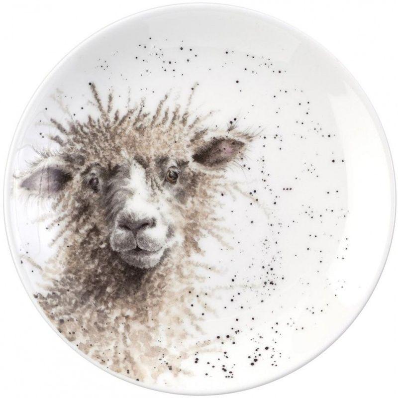 """Тарелка десертная Royal Worcester """"Забавная фауна.Овца"""" 16,5см"""