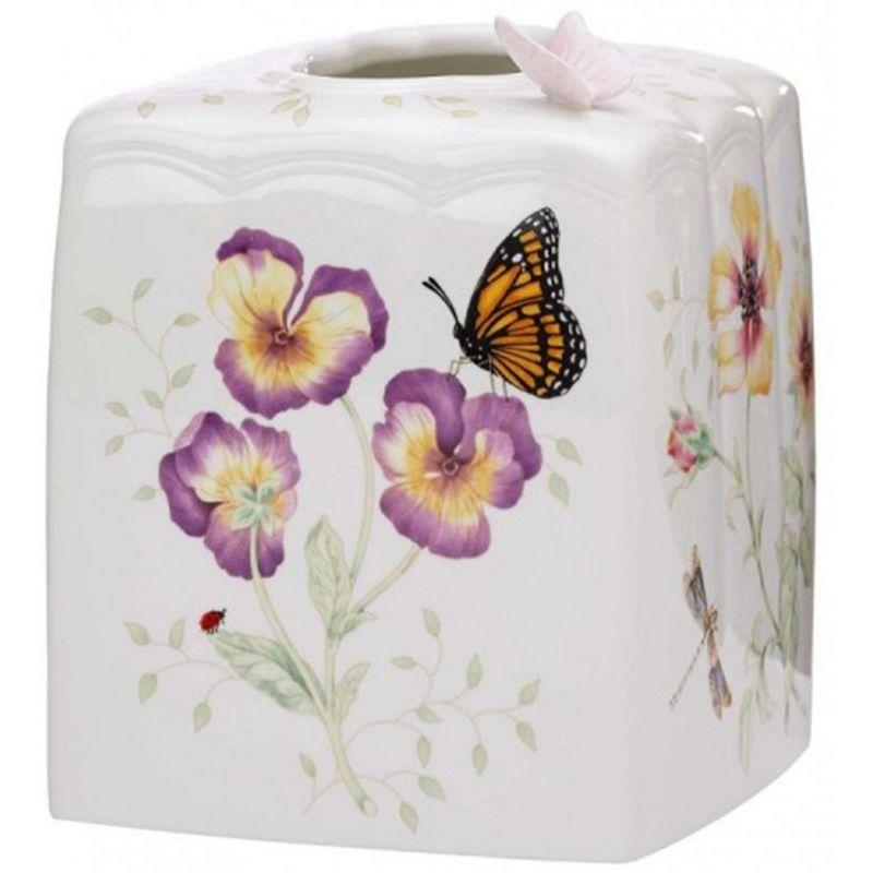 """Подставка для салфеток Lenox """"Бабочки на лугу"""" 15см"""