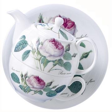 Чайник на одного 400мл Роза Редаут