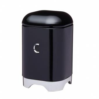 Kitchen Craft Ёмкость для хранения кофе Lovello black 11,5*11,5*18,5 см