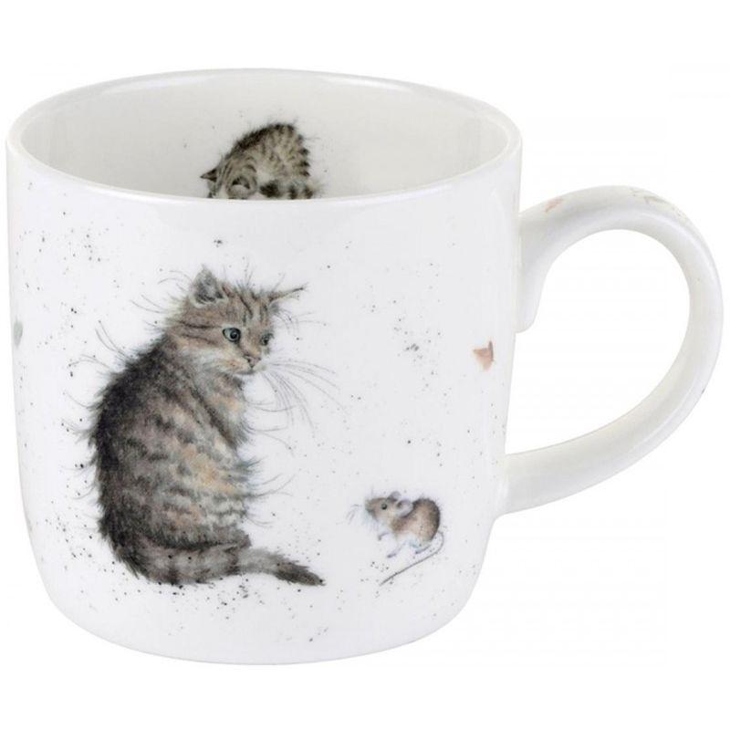 "Кружка Royal Worcester ""Кот и мышь"" 310мл"