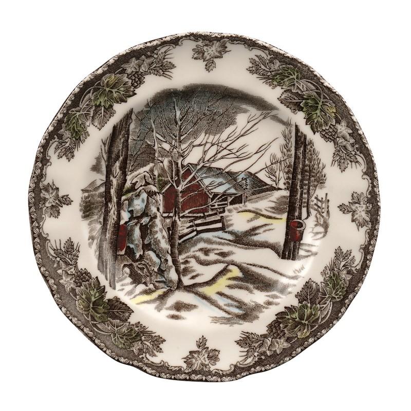 Тарелка 16см Деревенька