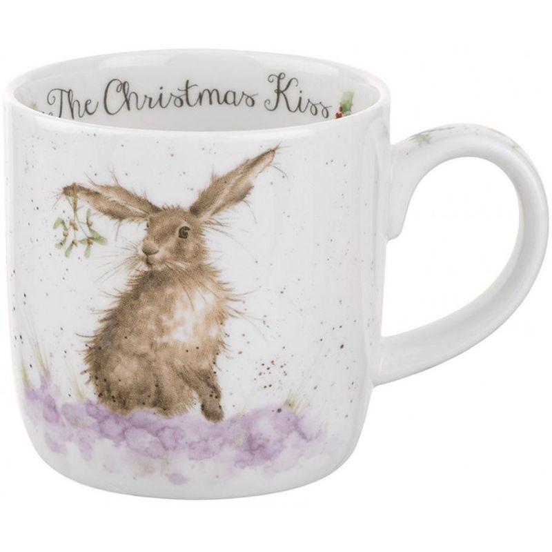 """Кружка Royal Worcester """"Рождественский поцелуй.Кролик"""" 310мл"""