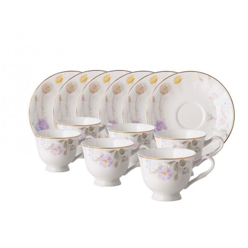 Кофейный набор Саваж 12 предметов, 6 персон.
