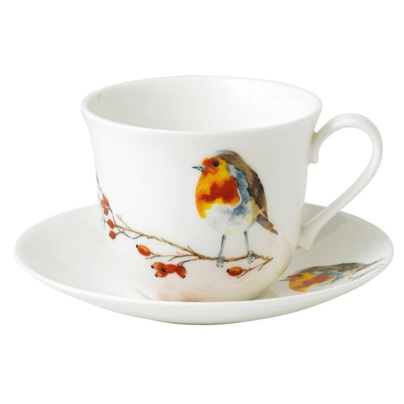 Чайная пара для завтрака Малиновка 500мл
