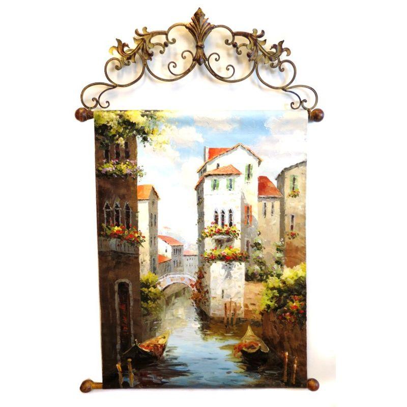 Картина Венецианский канал 60*90 см