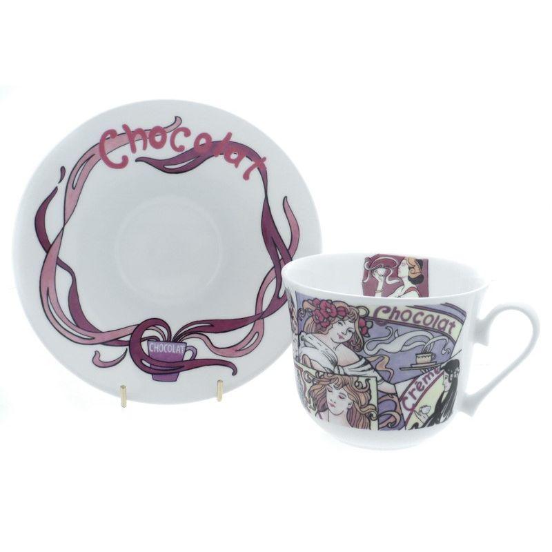 Горячий шоколад/Чайная пара для завтрака 500мл