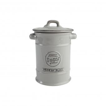 T&G Ёмкость для хранения сахара Pride of Place in cool grey 19*12 см
