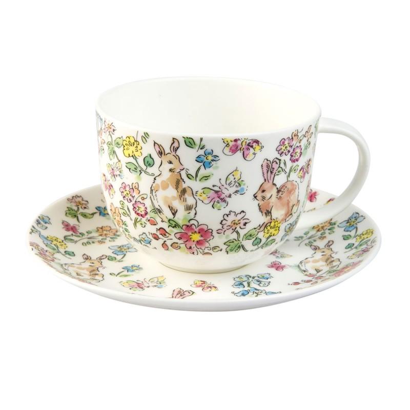 Чайная пара для завтрака Утренний луг 2 вида 450мл