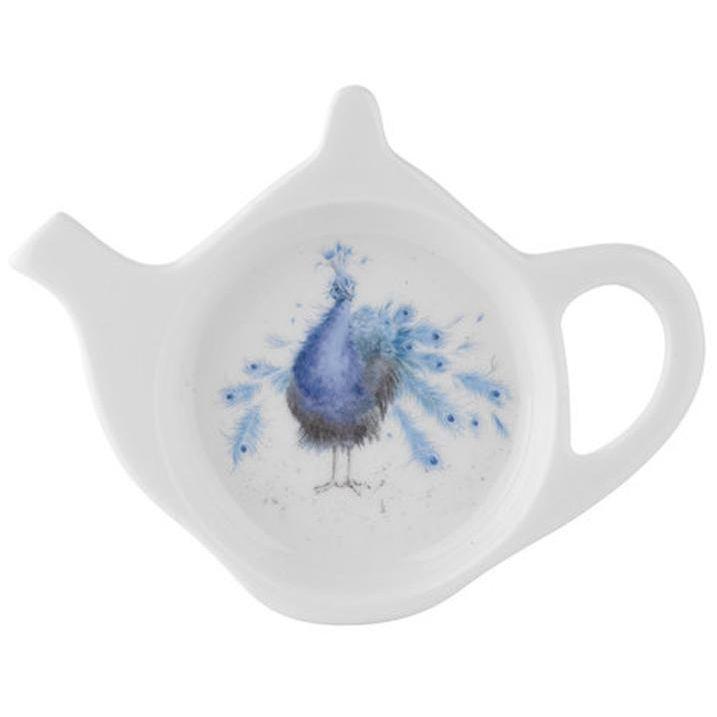 "Подставка для чайного пакетика Royal Worcester ""Забавная фауна.Павлин"" 13см"